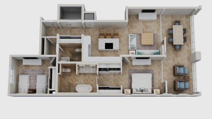 two+bedroom